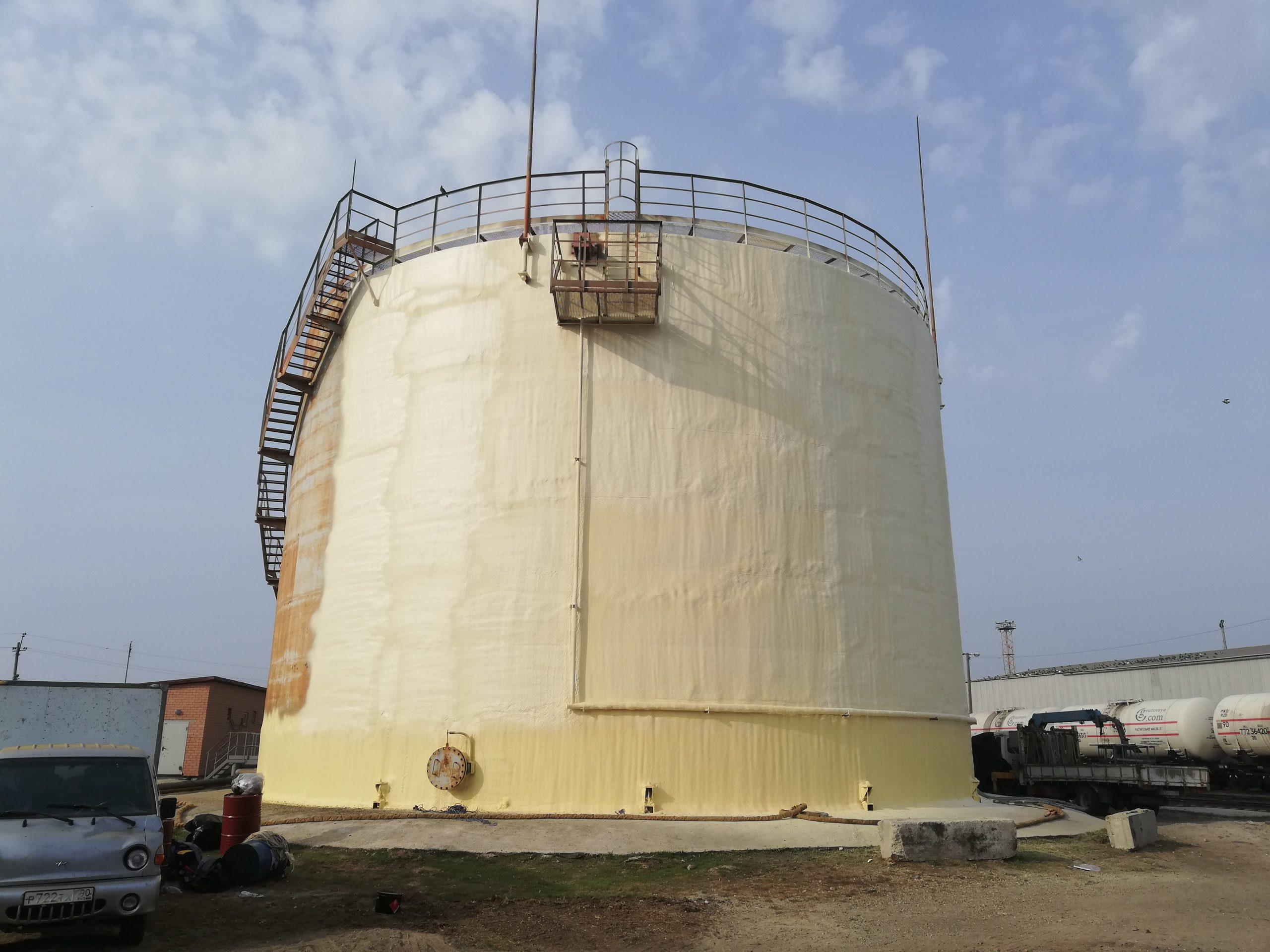 утепление нефтяного танка