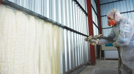 Теплоизоляция ППУ гаража